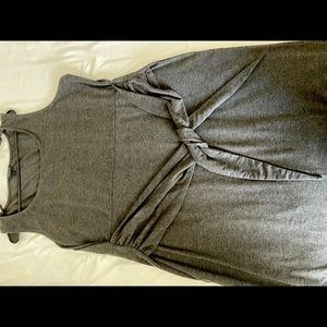 Torrid sleeveless Grey dress